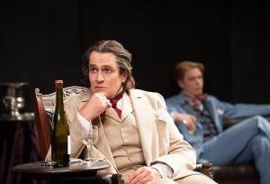 A brilliant Rupert Everett, playing Oscar Wilde
