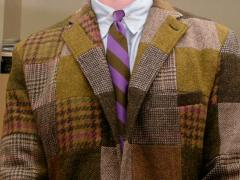 A patchwork tweed jacket that inspired subsequent haute couture and RTW collections
