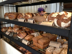 A selection of the breads for sale at E5 Bakehouse