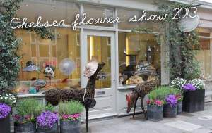 The Gabriela Ligenza Shop celebrates the Chelsea Flower Show