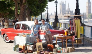 Vintage cars, fashion and memorabilia at the Classic Car Boot Sale this Sunday